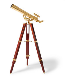 Celestron Ambassador 80mm Brass and Mahogany Wood Telescope