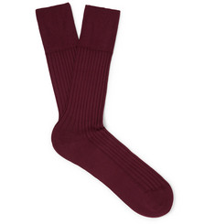 Falke - No. 13 Piuma Cotton-Blend Socks