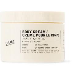 르라보 히노키 바디 크림 (히노키: 일본 고야산 불교 사원의 편백나무 숲 향) Le Labo Body Cream - 250ml