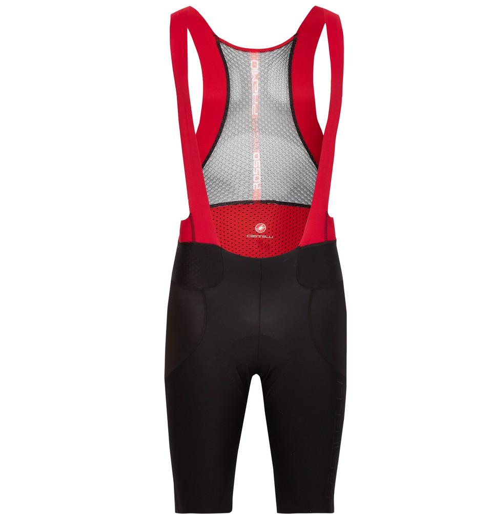 Premio Mesh And Jersey Cycling Bib Shorts - Black