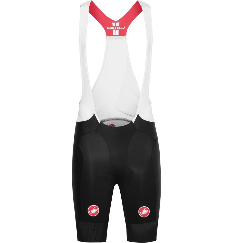 Free Aero Race Vortex And Mesh Cycling Bib Shorts - Black