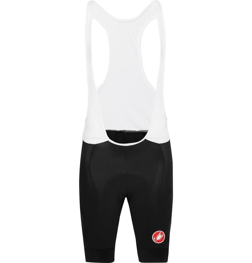 Endurance Evolution And Mesh Cycling Bib Shorts - Black
