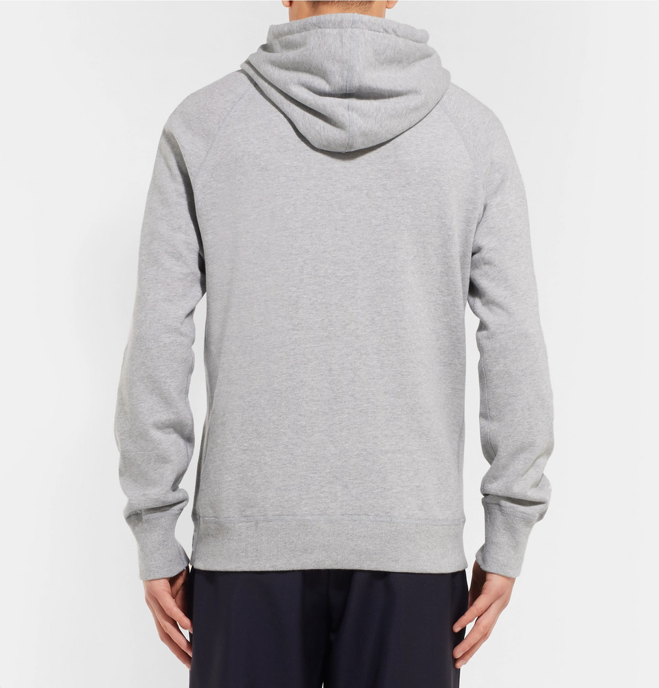 Reigning Champ Loopback Cotton-Jersey Pullover Hoodie