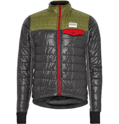 Cafe du Cycliste - Albertine Quilted-Shell and Fleece Cycling Jacket