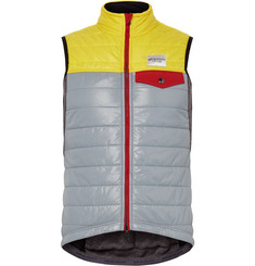Cafe du Cycliste - Albertine Quilted Nylon and Fleece Cycling Gilet