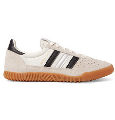 adidas Originals Indoor Super Suede and Nylon Sneakers