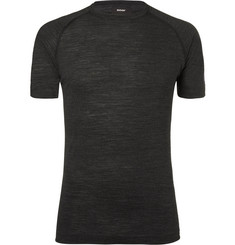 Soar Running Wool and Silk-Blend Base Layer T-Shirt