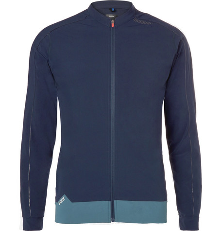 SOAR X-Line Tempo Stretch-Jersey Jacket - Navy