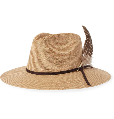 +stetson Braided Hemp Hat - Sand