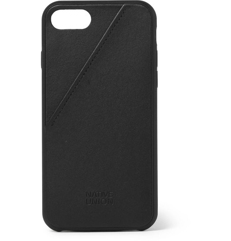 Clic Card Leather I Phone 7 And 8 Case by Native Union