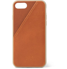 Native Union Clic Card Leather iPhone 7 and 8 Case