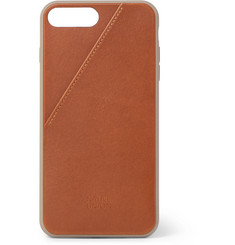 Native Union Clic Card Leather iPhone 7 Plus and 8 Plus Case