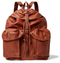 RRL Riley Leather Backpack