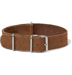 RRL - Roughout Suede Watch Strap