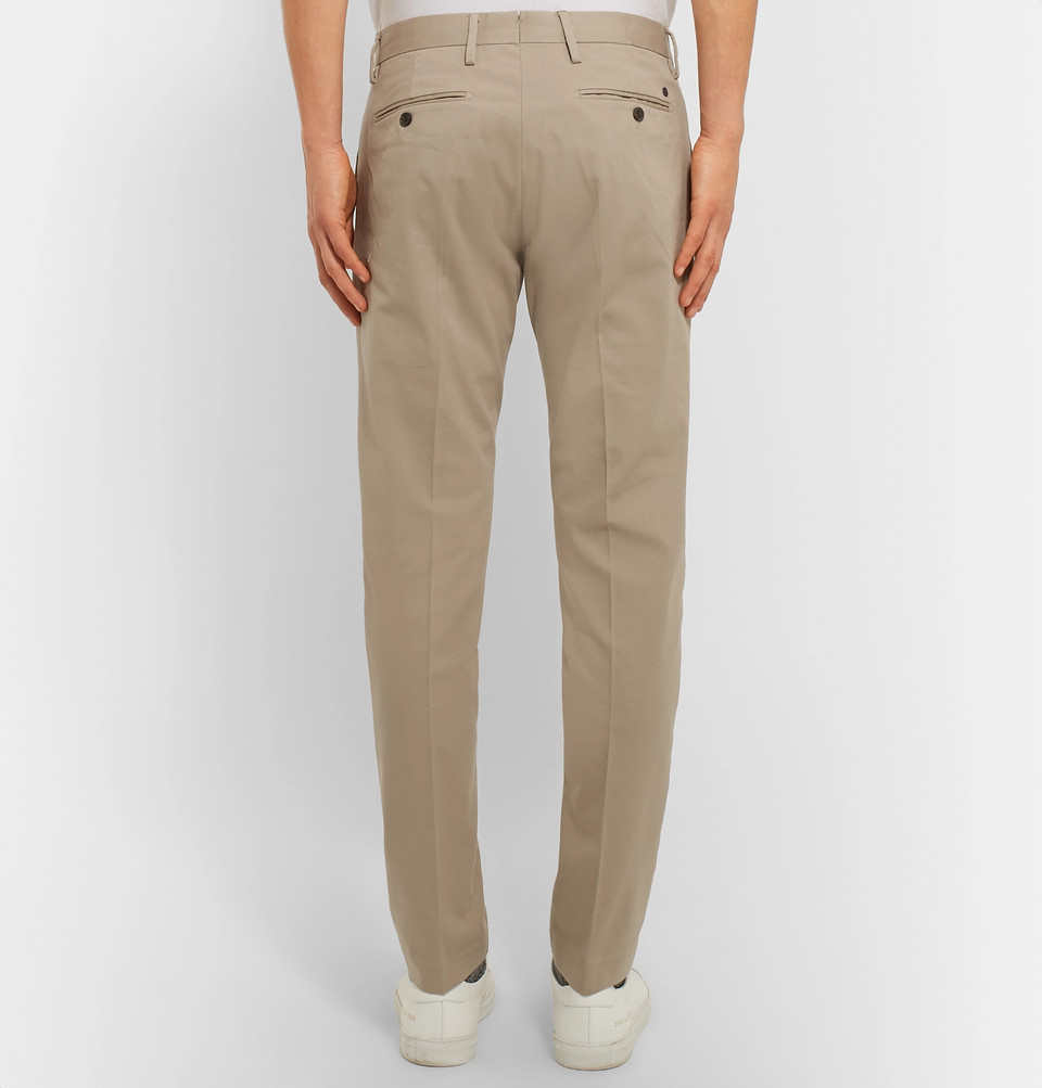 NN07 Theo Slim-Fit Stretch-Cotton Twill Chinos