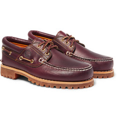 Timberland - Authentics Leather Boat Shoes