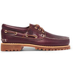 Timberland Authentics Leather Boat Shoes