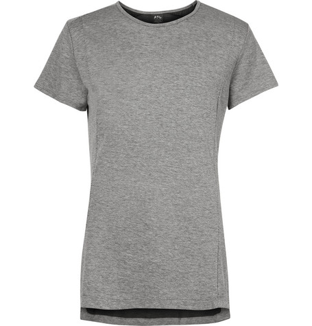 Apl Athletic Propulsion Labs The Perfect MÉLange Mesh T-Shirt - Gray