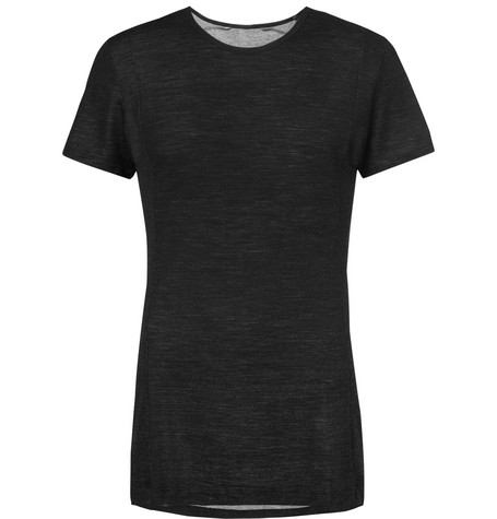 Apl Athletic Propulsion Labs The Perfect Mesh T-Shirt In Black