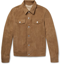 Valstar - Slim-Fit Suede Trucker Jacket