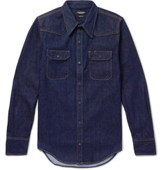 CALVIN KLEIN 205W39NYC - Denim Western Shirt
