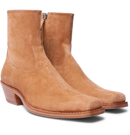 b4b20f7b3e42 Shoptagr | Western Tod Suede Boots by Calvin Klein 205 W39 Nyc