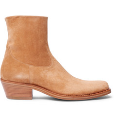 CALVIN KLEIN 205W39NYC Western Tod Suede Boots