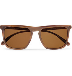 Berluti + Oliver Peoples Rue De Sevres D-Frame Acetate Polarised Sunglasses