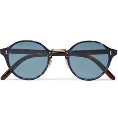Oliver Peoples OP-1955 Round-Frame Acetate Photochromic Sunglasses