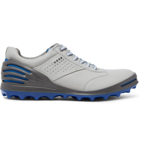 Cage Pro Hydromax Leather Golf Shoes in Light Gray