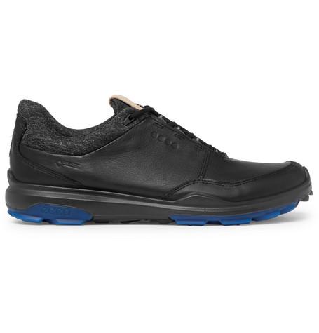 Biom Hybrid 3 Leather Golf Shoes in Black