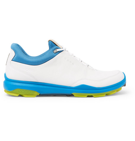 Biom Hybrid 3 Leather Golf Shoes in White