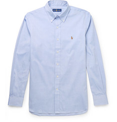 폴로 랄프로렌 셔츠 Polo Ralph Lauren Button-Down Collar Cotton Oxford Shirt,Light blue