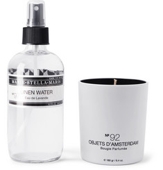 Marie-Stella-Maris - Linen Water and Candle Set