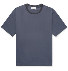 Solid Homme Stretch-Woven T-Shirt