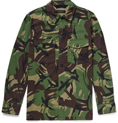 rag & bone - Heath Camouflage-Print Cotton-Blend Shirt Jacket