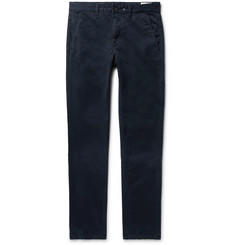 rag & bone - Fit 2 Slim-Fit Garment-Dyed Cotton-Twill Chinos