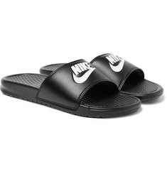 Nike Benassi JDI Printed Faux Leather Slides