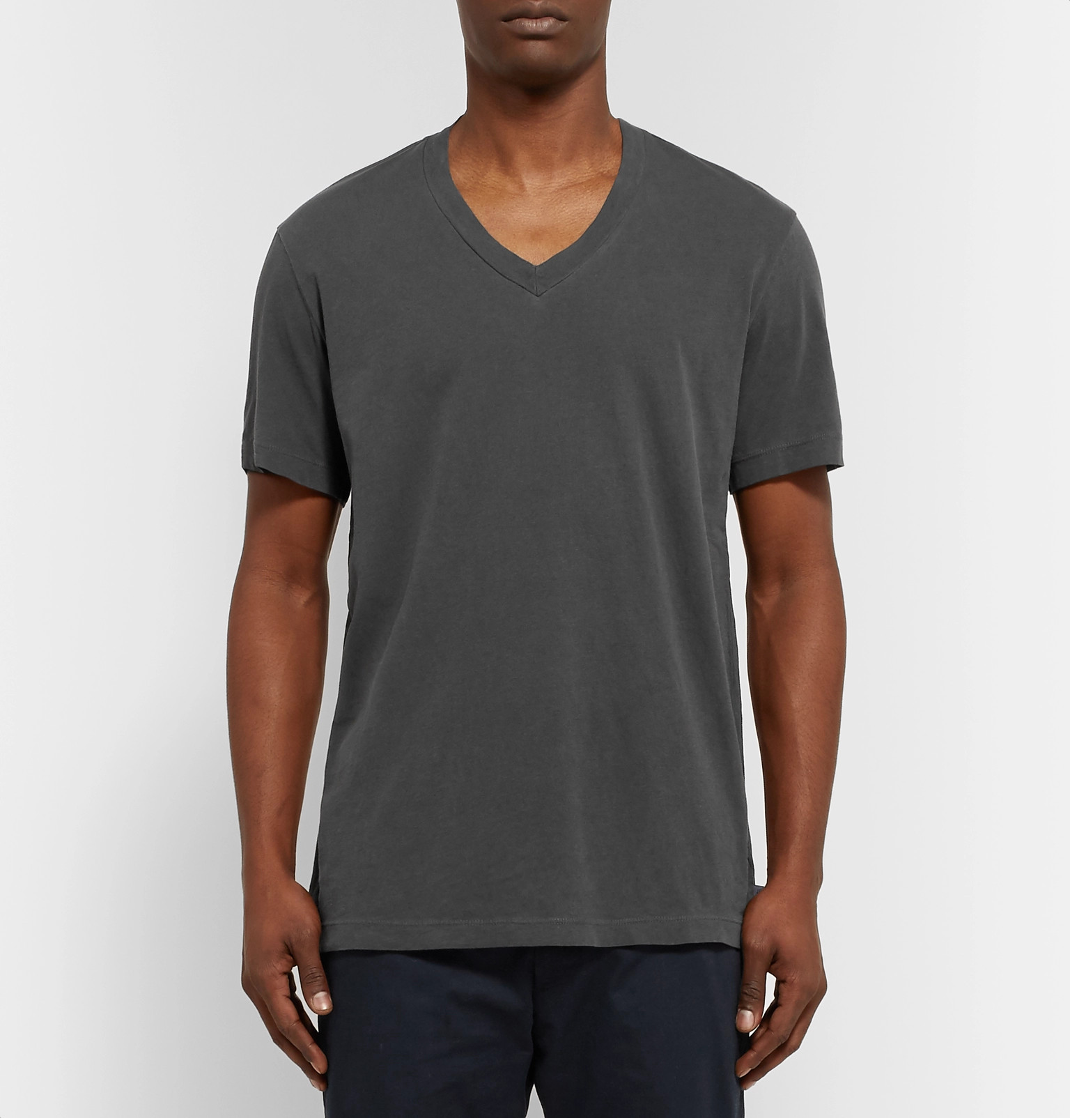 d53f1f1769 James Perse - Slim-Fit Combed Cotton-Jersey T-Shirt