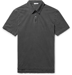 James Perse - Slim-Fit Supima Cotton-Jersey Polo Shirt