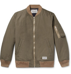 Wacko Maria Cotton-Blend Bomber Jacket