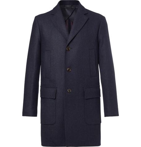 Mcintyre Wool Coat - Navy