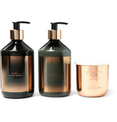 Tom Dixon London Scented Candle, Hand Wash and Balm Gift Set