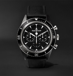 Jaeger-LeCoultre Deep Sea Chronograph 44mm Cermet and Tech-Canvas Watch