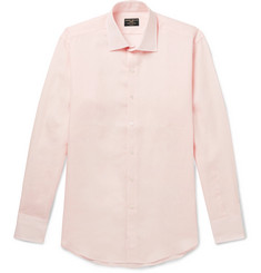 Emma Willis - Slim-Fit Cutaway-Collar Linen Shirt