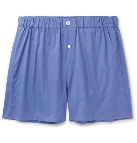 EMMA WILLIS End-on-End Cotton Boxer Shorts