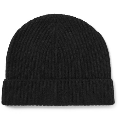 Ribbed Cashmere Beanie Lock & Co Hatters P9WTE