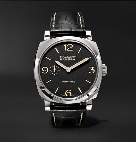 Panerai PAM00620 Radiomir 1940 3 Days Automatic Titanio 42mm Stainless Steel And Alligator Watch - Black