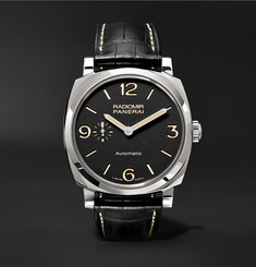 Officine Panerai Radiomir 1940 3 Days Automatic Titanio 42mm Stainless Steel and Alligator Watch