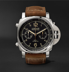 Officine Panerai - Luminor 1950 PCYC 3 Days Chrono Flyback Automatic Acciaio 44mm Stainless Steel and Assolutamente Leather Watch